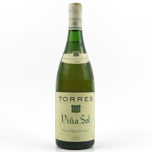 """Torres """"Viña Sol"""" 1996 Penedès"""