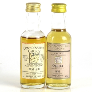 Miscellaneous Gordon and MacPhail Selection 2 x Miniatures 5cl