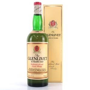 Glenlivet 12 Year Old 1970s