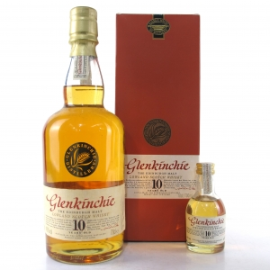 Glenkinchie 10 Year Old / Including 5cl Miniature