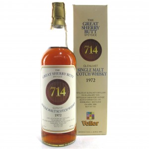 Glenlivet 1972 Signatory Vintage Great Sherry Butt / Velier Import