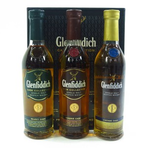 Glenfiddich Cask Collection 3 x 20cl