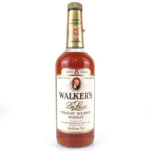 Walker's 8 Year Old Deluxe Bourbon 1970s