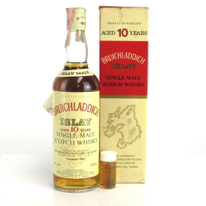 Bruichladdich 10 Year Old 1980s / Rinaldi Import