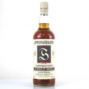 Springbank 12 Year Old 1980s 75cl / US Import