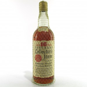 Collector's Item 1953 Bottled in Bond 16 Year Old 100 Proof