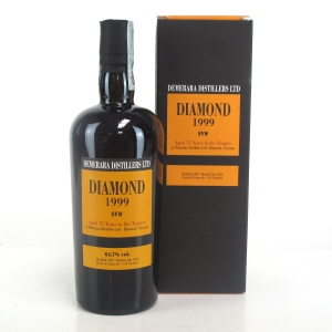 Diamond 1999 Demerara Distillers 15 Year Old Rum