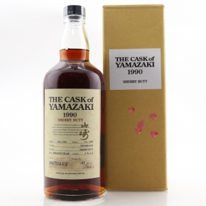 Yamazaki 1990 Single Cask #ON70646 / Sherry Butt
