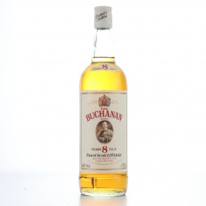 The Buchanan 8 Year Old Scotch Whisky 1980s