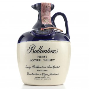 Ballantine's Finest Scotch Whisky Decanter 1960s