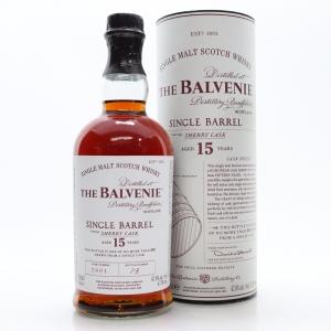 Balvenie 15 Year Old Single Barrel #2801 / Sherry Cask