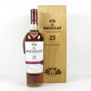 Macallan 25 Year Old Sherry Oak Front
