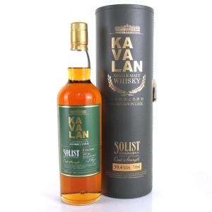 Kavalan Solist Cask Strength Bourbon Cask / 59.4%