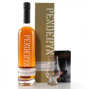 Penderyn Single Sherry Cask #S73/1 / The Whisky World - with Glencairn Glass