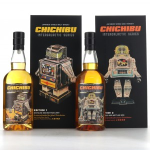 Chichibu Intergalactic Editions 2 x 70cl / with T-Shirt & Tote Bag