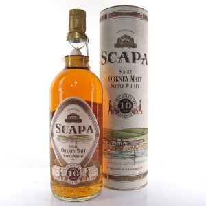 Scapa 10 Year Old 1980s 1 Litre