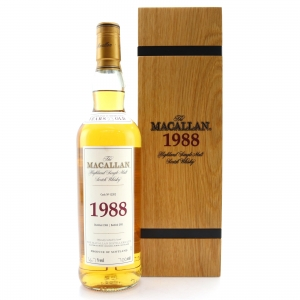 Macallan 1988 Fine and Rare 23 Year Old