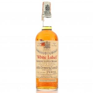 Dewars White Label 1950's