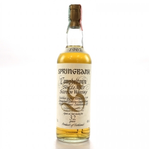 Springbank 1962 32 Year Old