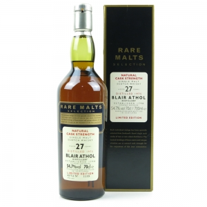 Blair Athol 1975 Rare Malt 27 Year Old / 54.7%