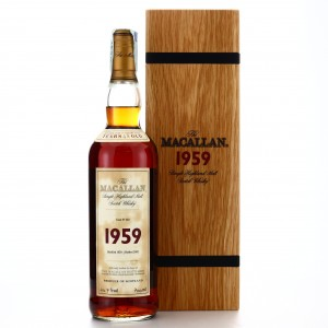 Macallan 1959 Fine and Rare 43 Year Old
