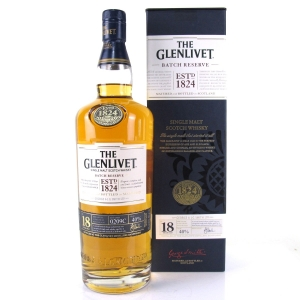 Glenlivet 18 Year Old Batch Reserve