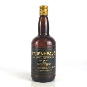 Glenfiddich 1963 Cadenhead's 24 Year Old