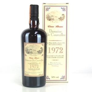 Domaine De Courcelles 1972 Vieux Rhum Guadeloupe Rum