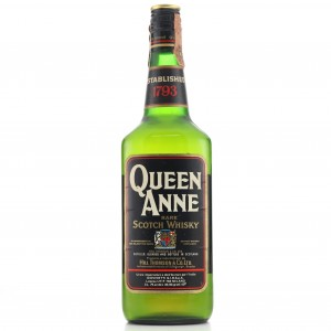 Queen Anne Rare Scotch 1960s / Giovinetti Import