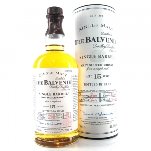 Balvenie 1988 15 Year Old Single Barrel