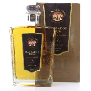 St. Nicholas Abbey 5 Year Old Barbados Rum