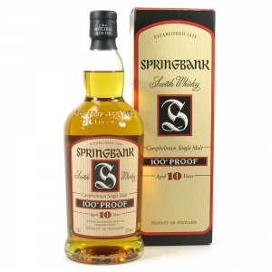Springbank 10 Year Old 100 Proof 1990s