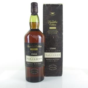 Talisker 1986 Distillers Edition 1 Litre / First Release