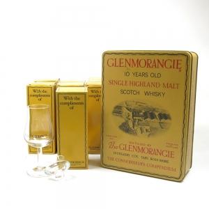 Glenmorangie 10 Year Old 5cl Tasting Set with 12 x Glenmorangie Tasting Glasses