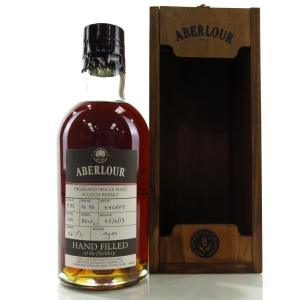 Aberlour 16 Year Old Hand Filled Sherry Cask / Batch #A16