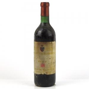 "Marqués de Murrieta ""Etiqueta Blanca"" 1969 Rioja Crianza"