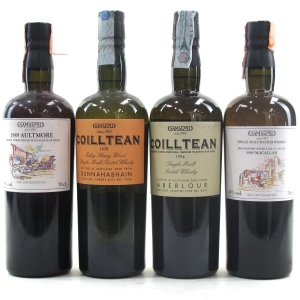 Samaroli Single Cask Selection 4 x 70cl / Including Macallan 1989 #8275