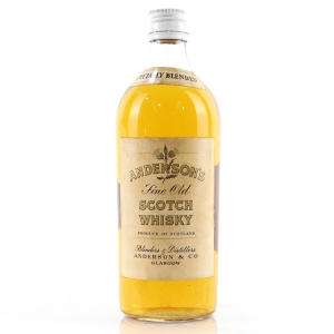 Anderson's Fine Old Scotch Whisky circa 1960s