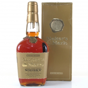 Maker's Mark Gold Label Label Kentucky Straight Bourbon