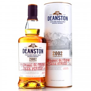 Deanston 2002 Organic Oloroso Cask Finish 16 Year Old
