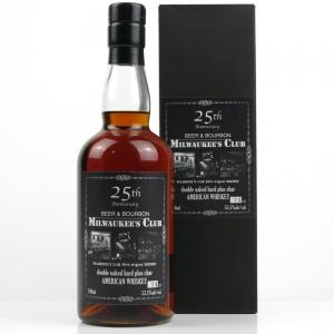 Ichiro's Malt / Milwawkee's Club 25th Anniversary Bourbon