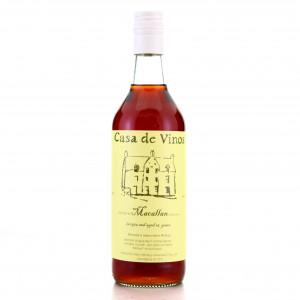 Macallan 1975 Casa de Vinos 25 Year Old