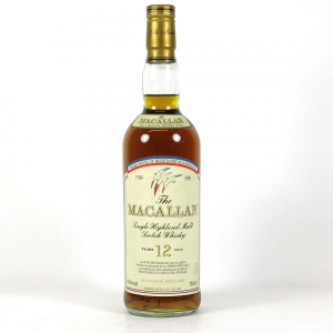 Macallan 12 Year Old Bicentennary French Revolution / Bicentenaire 1789-1989 front
