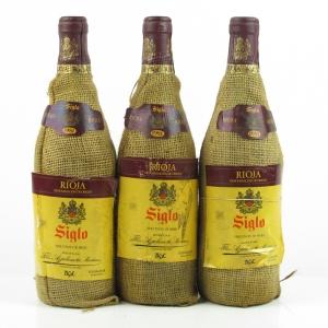 """A.G.E. """"Siglo"""" 1981 Rioja Crianza 3x75cl"""