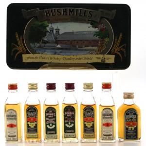 Bushmills Miniature Selection 7 x 5cl