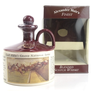 Alexander Muir's Finest 15 Year Old / Cecil Aldin's Grand National Series Decanter