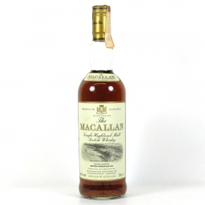 Macallan 12 Year Old British Aerospace BAe Jetstream front