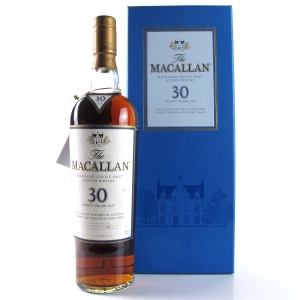 Macallan 30 Year Old Sherry Oak