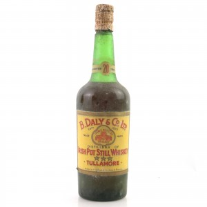 Daly's Tullamore 20 Year Old circa 1950s