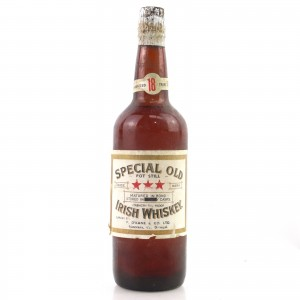 Special Old Irish Whiskey 18 Year Old circa 1950s